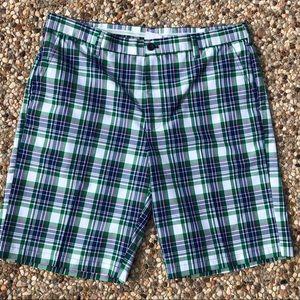 IZOD Men's Sz 36 Plaid Golf Shorts